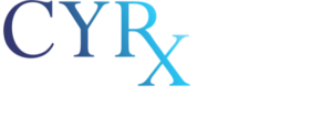 White CYRx MD Cosmetic Surgery Logo