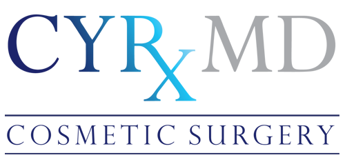 Blue CYRxMD Cosmetic Surgery Logo