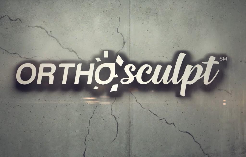 White OrthoSculpt Logo