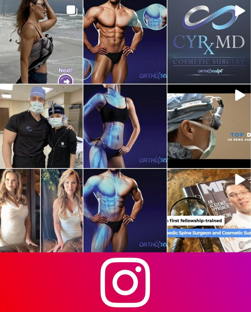 OrthoSculpt Instagram Images