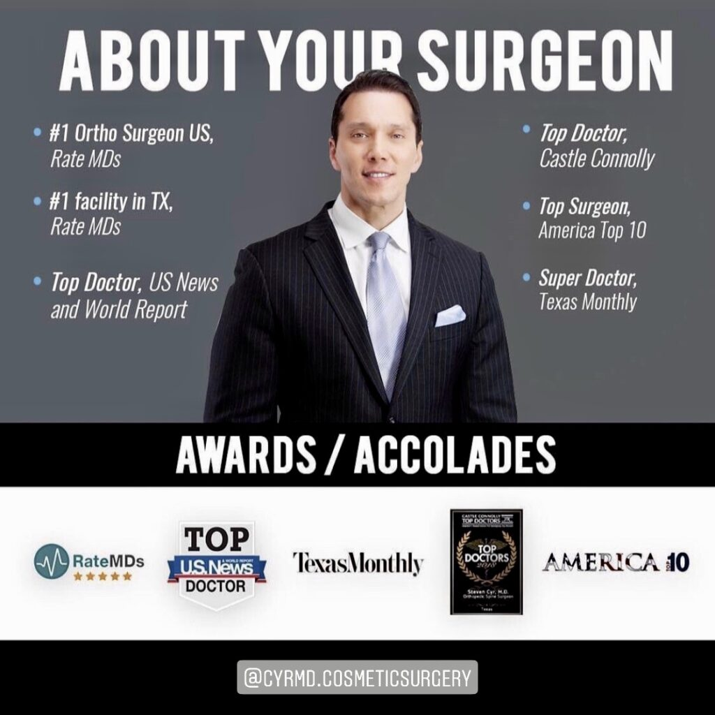 Dr. Steven J. Cyr Awards and Accolades