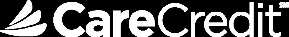 White Carecredit Logo