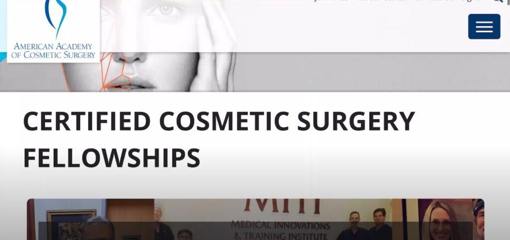Orthopedic & Cosmetic Surgeon